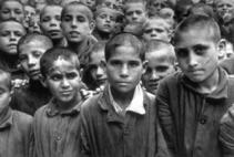 Children placed in the Albergo de Pobre by order of the Juvenile Court Italy, 1949