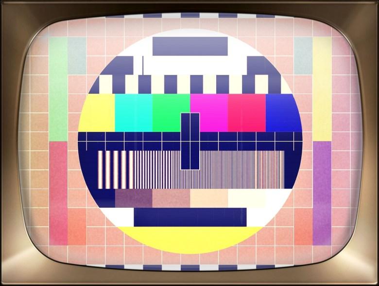 TV testskärm