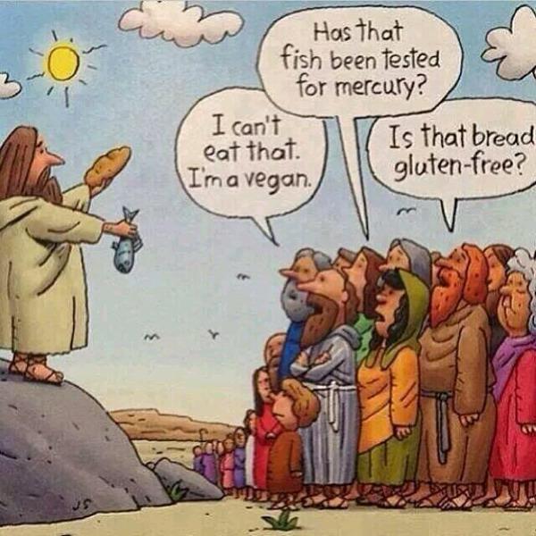 Jesus under möter motstånd