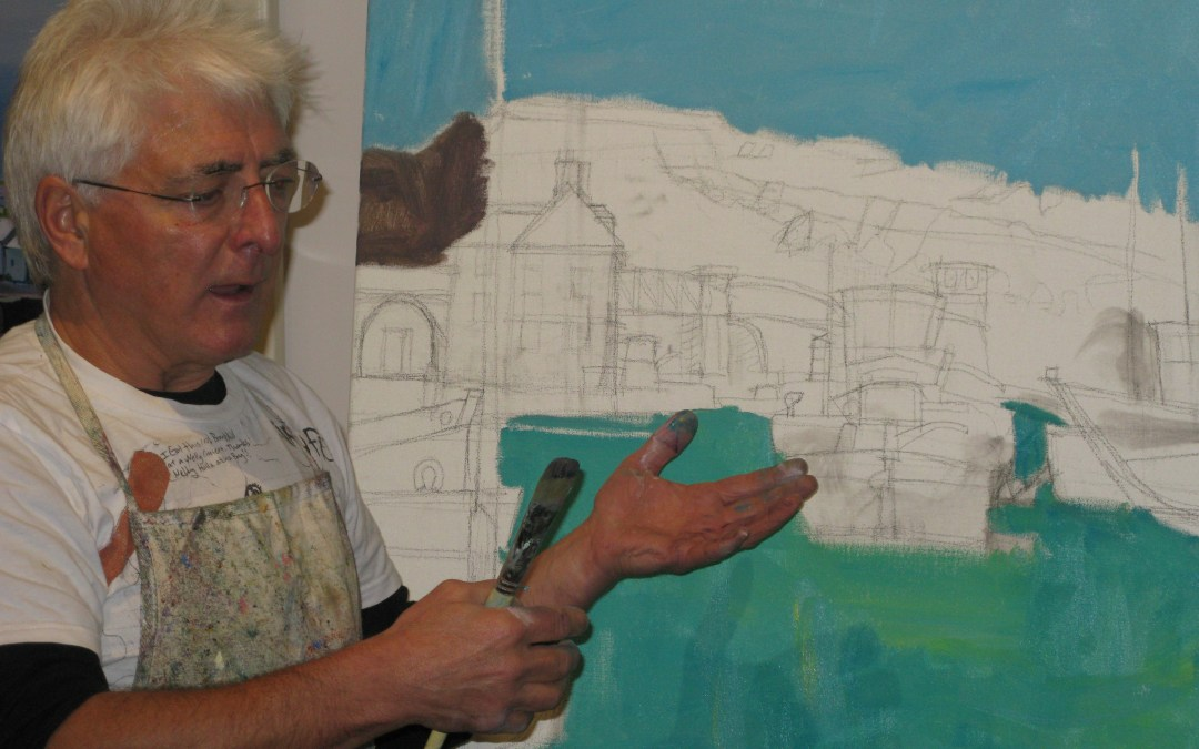Painting Demonstration at By Distinction Art