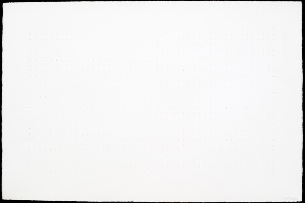 Slightly All The Time - minimalist drawing by David Smith