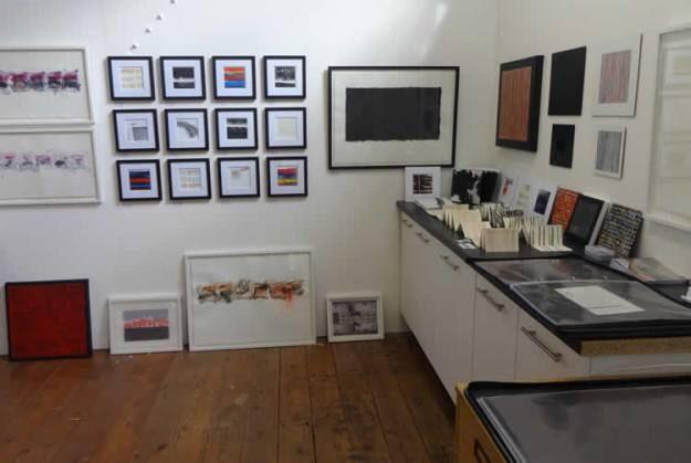 Image of artist's studio