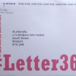 The snail mail envelope