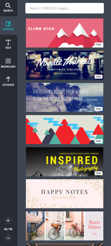 canva.com - Template Layouts