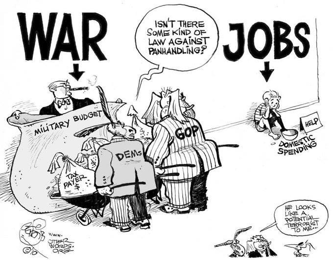 war and jobs