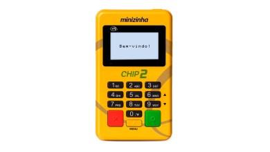 Foto de Minizinha Chip 2 – Máquina de Cartão sem Celular