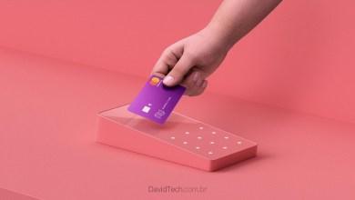 máquina de cartão Nubank