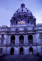 Minnesota State Capitol - Golden Horses, Front Facade, Minnesota State Capitol