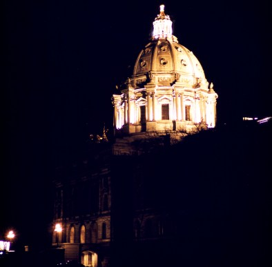 Minnesota State Capitol - Minnesota Capitol at Night