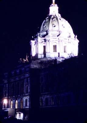 Minnesota State Capitol - Minnesota State Capitol at Night