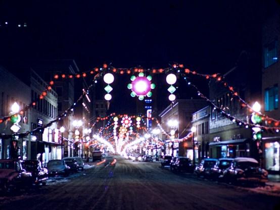 This is Minneapolis - Nicollet Avenue, Minneapolis - 1952