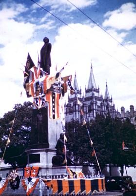 Salt Lake City - Brigham Young Monument