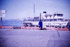 San Francisco - Bay Cruise Boat - Wharf
