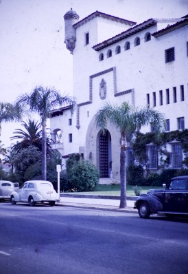 Santa Barbara - County Courthouse - Jail