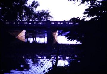 Summer - Bridge at sundown