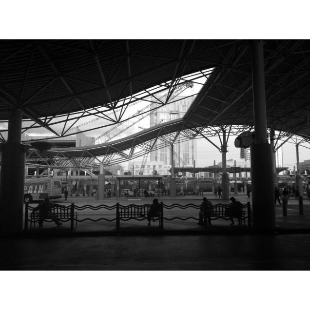 bus station, 2014