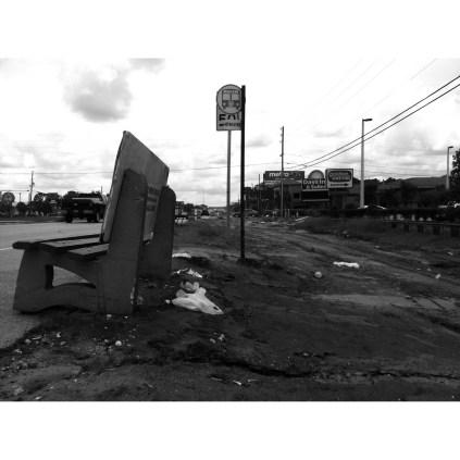 bus stop, 2014