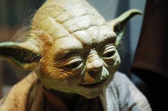 Yoda, Jedi master and linguistic rule-breaker
