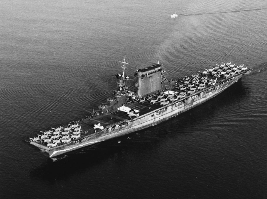 aircraft carrier now recovered