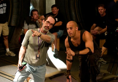 David Twohy, explaining the obvious to Vin Diesel, TCOR 2003.