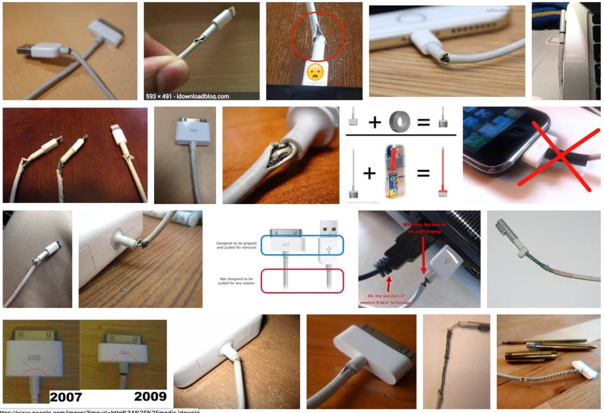 This is the real reason your iPhone cables break