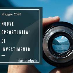 OPPORTUNITA' INVESTIMENTO MAGGIO