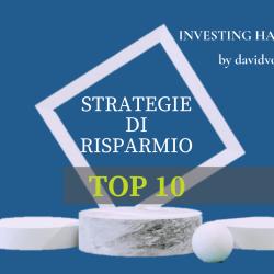 Top 10 strategie risparmio 1