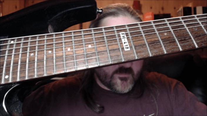 8 string guitar david v stewart