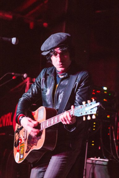 Jesse Malin, performs at Sound Control, Manchester, 23rd February 2016