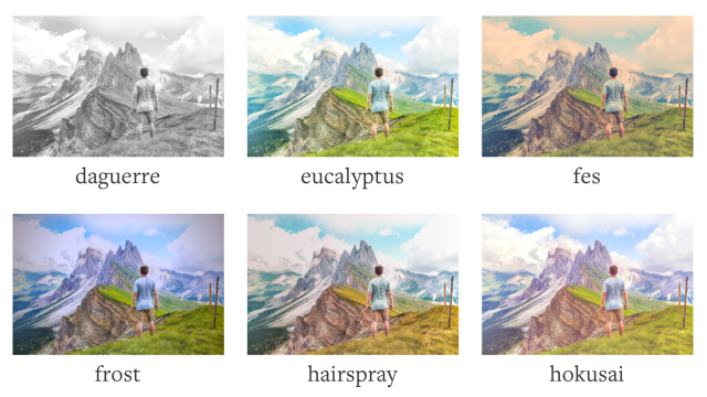 Cloudinary Filters