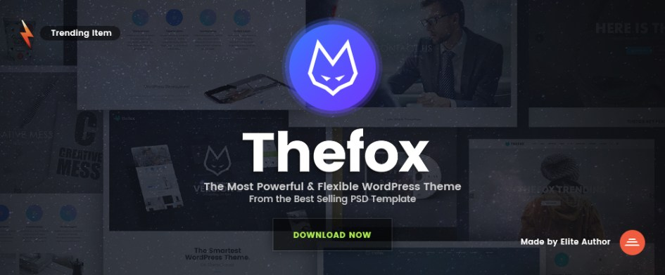 TheFox - Responsive Multi-Purpose WordPress Theme