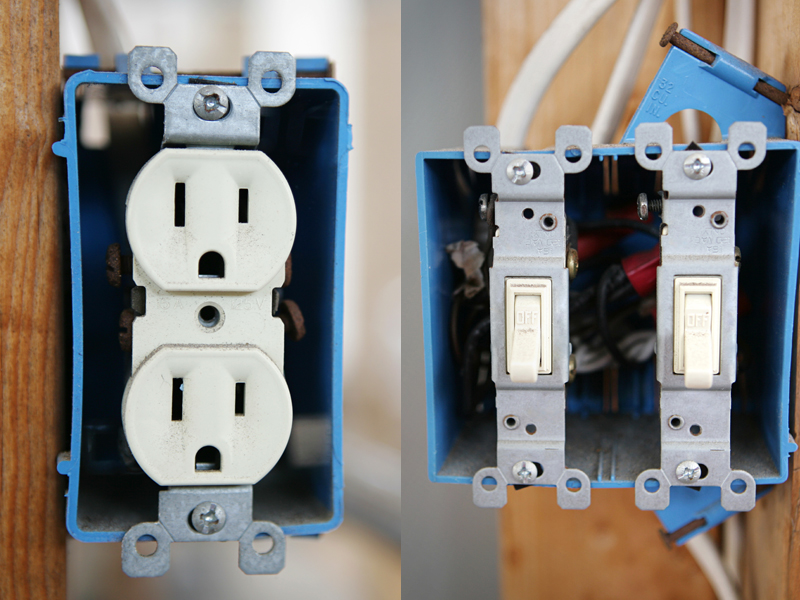 RECEPTACLES & SWITCHES - David Williams Electric