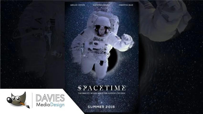 Hogyan készítsünk film plakátot a GIMP-ben