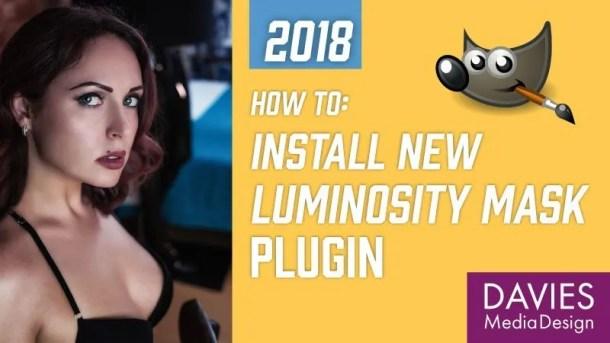 Install Luminosity Mask Setup Plugin in GIMP 2.10 Tutorial