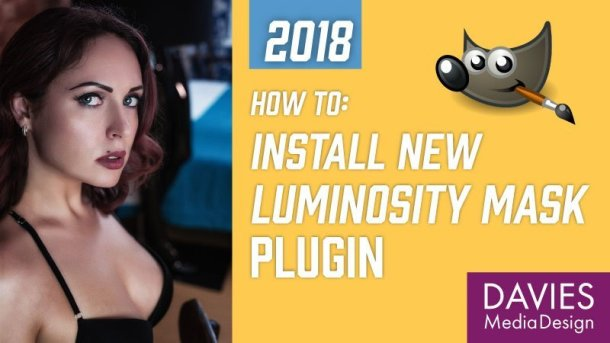 Install Luminosity Mask Setup Plugin in GIMP 2.10 Tutorial