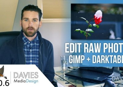 How to Edit RAW Photos in GIMP and Darktable