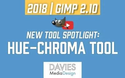 Nueva herramienta GIMP 2.10 Spotlight: Herramienta Hue-Chroma