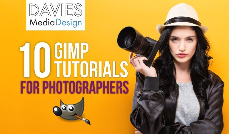 Top 10 GIMP Photography Tutorials