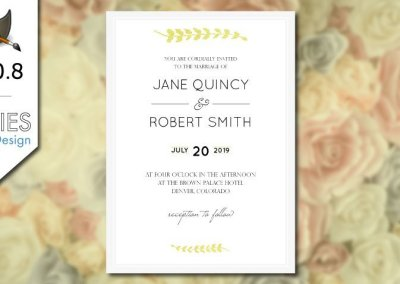 GIMP 2.10 Tutorial: Design Wedding Invitations for Print