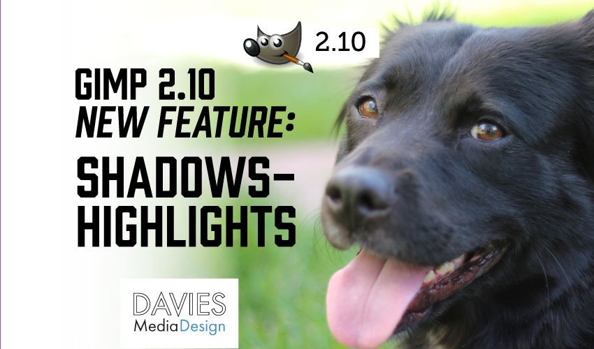 GIMP Shadows Highlights Nueva característica 2.10