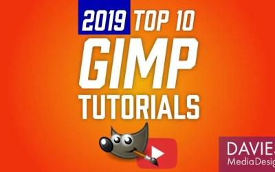 शीर्ष 10 GIMP 2019 के ट्यूटोरियल (बहुत दूर)