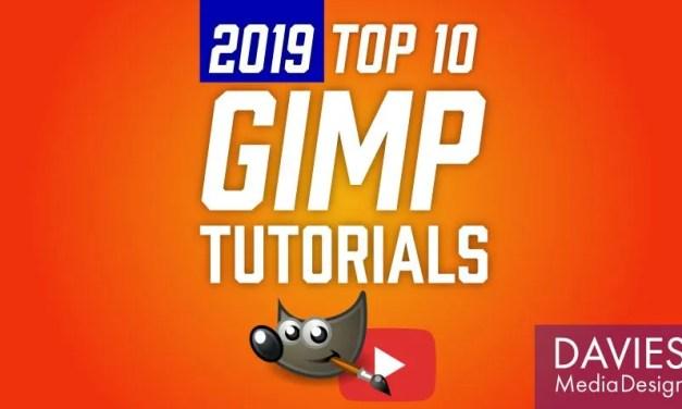 Top 10 GIMP Tutorials di 2019 (finora)