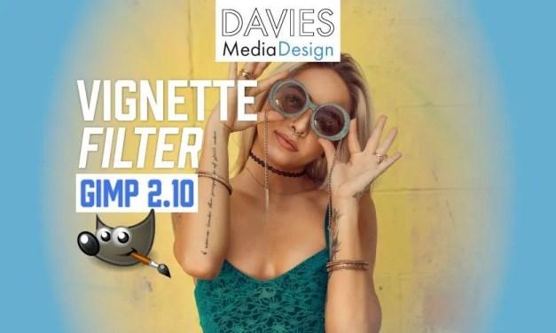 GIMP 2.10 Feature Spotlight: Filtro Vignette