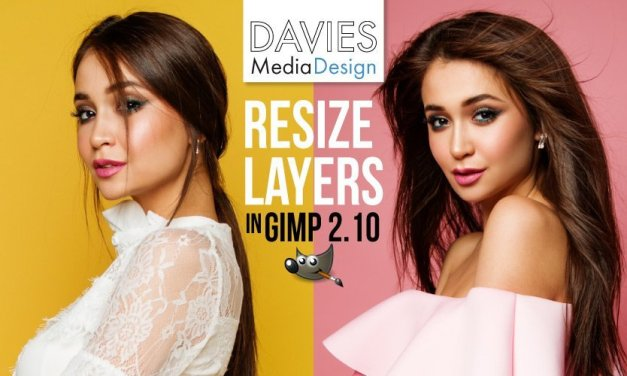 How to Resize a Layer in GIMP
