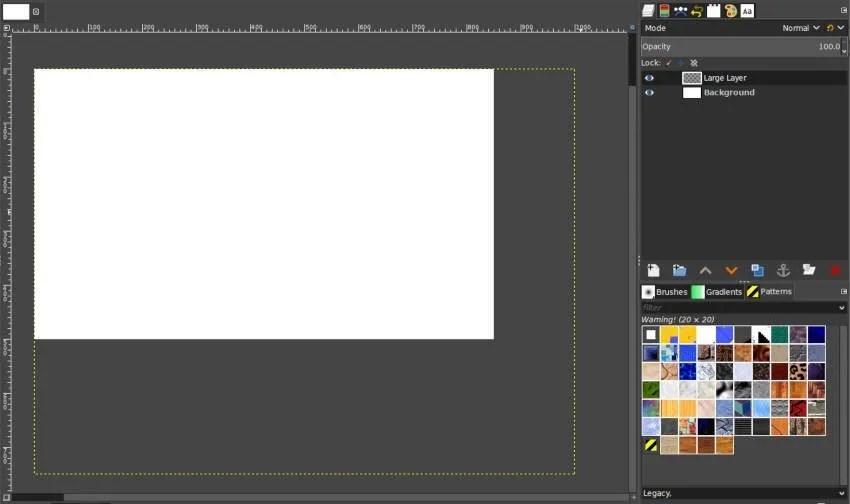 Creando una capa más grande que tu composición