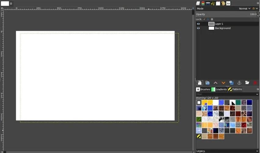 Offset X og Y Eksempelbillede GIMP Layers Tutorial