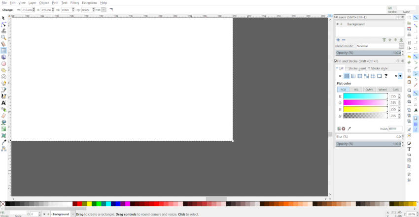 Check Aligned Corners on Inkscape Canvas