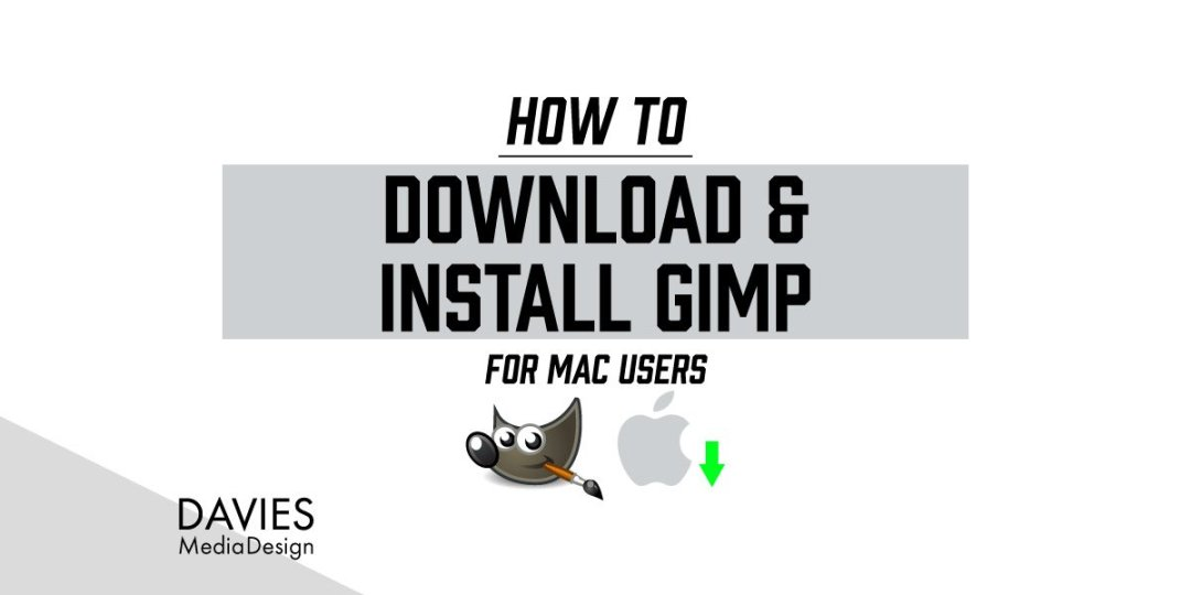 Download og installer GIMP til MAC