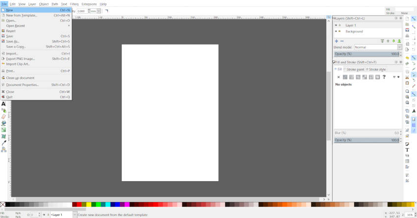 Final Inkscape Canvas Adobe Illustrator Artboard