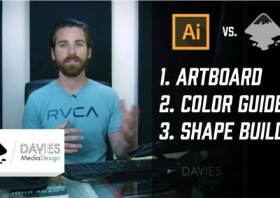 Illustrator vs Inkscape: 3 populære funktioner sammenlignet